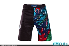 Today on BJJHQ Ground Game Black Dragon Yokai Grappling Shorts - $35